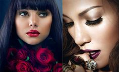 maquillajes de labios -