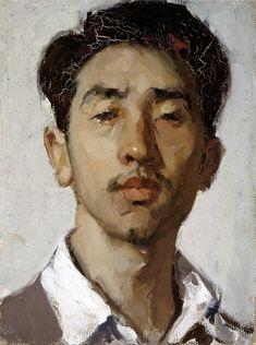 Jin Shangyi, Self-Portrait (1959)