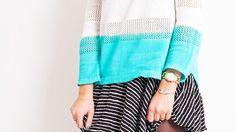 DIY Dip-Dyed Sweater