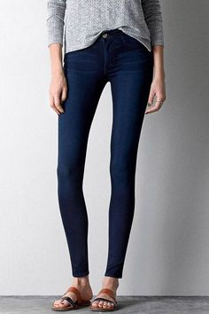 Part legging, part jean — these are AEO's skinniest leg opening available to shop. Bonus: This style comes in at a crowd-pleasing $49.95.