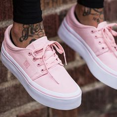 Introducing the Women's Trase Platform TX Shoes! A pink to the floor color dip for our most popular women's styles featuring Canvas upper for breathability & lightweight feel.  THE PINK ROSE COLLECTION is arriving soon at the #OriginBoardShop #onlinestore!  #DC #dcskateboarding #dcfootwear #obs #shoestagram #sneaker #skateshoes #dcshoes #shoes #skatewear #skatelife #skater #skateboarding #skategram #newshoes #womenshoes #skatergirls #pinkshoes