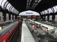 Hauptbahnhof Hamburg, Deutschland  D