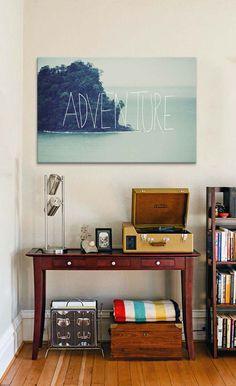 Adventure Island by Leah Flores Canvas Print