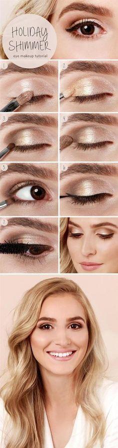 Simple fresh eyed makeup