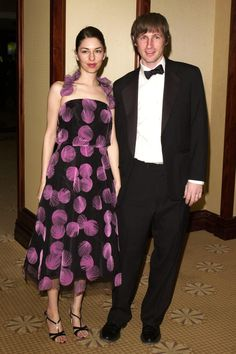 Sofia Coppola & Spike Jones February 18, 2001 at the American Cinematographers Awards.