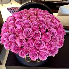 Find images and videos about pink, flowers and rose on We Heart It - the app to get lost in what you love. Unusual Flowers, My Flower, Pretty Flowers, Arte Floral, Color Rosa, Flower Boxes, Gift Flowers, Beautiful Roses, Belle Photo