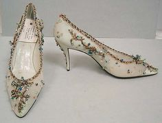 House of Dior | Evening shoes | French | The Metropolitan Museum of Art.