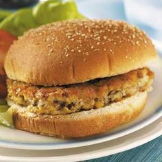 Mushroom Burgers Recipe  I do not put cheese, flour or thyme in the mix. I do put minced fresh onion, salt, pepper, paprika and parsley...a little cucumber salad on the side..perfect dinner! p.s. no bun