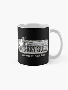 """Grey Gull Haven"" Mug by HavenDesign 