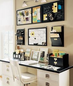 office area...for my small, small, microscopic office space . For a small office , this would be PERFECT ! I Wanna do it !