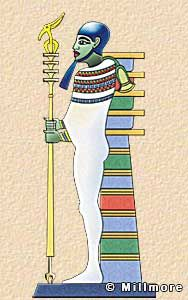 Ptah  Ptah was a creator god, said to have made the world from the thoughts in…