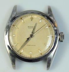 #Forsale Vintage #Rolex 6022 Stainless Steel 34mm Manual Wind Mens Watch Head Only - Price @$830.00