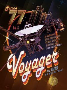 Tech: Még szép, hogy a NASA megünnepeli a Voyager–1 szülesnapját: 3 plakátot is készítettek - HVG.hu