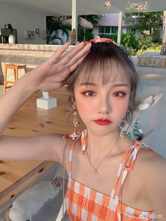 Korean Ulzzang, Ulzzang Girl, Cute Korean Girl, Aesthetic Vintage, Aesthetic Pictures, Trendy Outfits, My Girl, Girl Fashion, Make Up