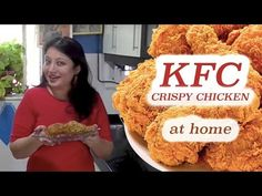 YouTube Crispy Chicken Recipes, Chicken Recipes Video, Kfc Style Chicken, Home Recipes, Cooking Recipes, Vegetable Pakora, Bon Appetit, Calligraphy Drawing, Tasty Recipe