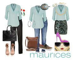 """""""The Perfect Blouse with maurices: Contest Entry"""" by sayanniething ❤ liked on Polyvore featuring maurices, toosis, T By Alexander Wang, Forever 21, Christian Louboutin, Alice + Olivia, Decree, White House Black Market, Bling Jewelry and H&M"""