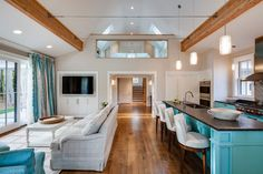 The Nested Neighbor - traditional - Family Room - Other Metro - Phi Home Designs