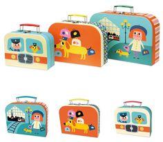 #Cardboard #Suitcases from www.kidsdinge.com                            http://instagram.com/kidsdinge          https://www.facebook.com/kidsdinge/ #kidsdinge #kidsroom #Toys