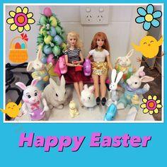 Aly and Midge Happy Easter
