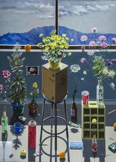 Albuquerque Studio - Grey Day by Paul John Wonner
