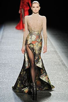Oliver Theyskens gave the French House, Nina Ricci, eight wonderful collections, and left with a bang.