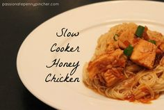 Slow Cooker Honey Chicken {25 Days of Slow Cooking}