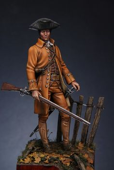"""Minuteman"" American Revolutionary War 1775 
