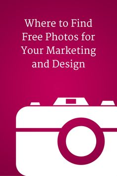 Where to find free photos for your marketing and design - @b2community