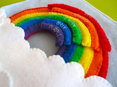 Rainbow Quiet Book