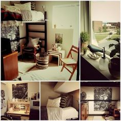 Lots of great inspiration! Check out Studentrate, too, for discounts on awesome dorm room decor!
