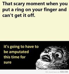 that's always my reaction...
