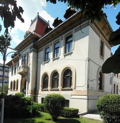 Clădirea Administrației Financiare (1930), azi Muzeul Municipal, Strada Negru Vodă 119, Câmpulung