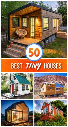 50 beautiful little houses that maximize space Hause - home decors - 50 beautiful little houses that maximize space 🏠 - Best Tiny House, Tiny House Cabin, Tiny House Living, Tiny House Plans, Tiny House Design, Tiny House On Wheels, Cottage Design, Living Room, Tiny House Village
