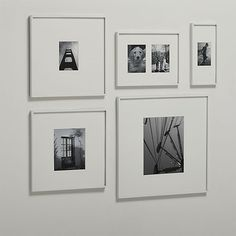 gallery white picture frames  | CB2
