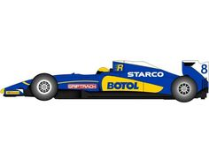 The Scalextric 2015 GP Racer Blue is a 1/32 scale slot car and is part of the Scalextric Super Resistant range.