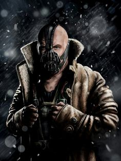 "Bane: ""You can watch me torture an entire city and when you have truly understood the depth of your failure,...when it is done and Gotham is ashes, then you have my permission to die."