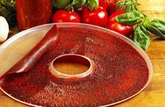 fruit leather recipe....i'm going to do this soon!