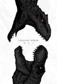 Jurassic World - - Post with 2903 views. Jurassic World. Jurassic Movies, Jurassic Park Series, Jurassic Park World, Dinosaur Drawing, Dinosaur Art, Fantasy Wesen, Indominus Rex, Tyrannosaurus, Falling Kingdoms