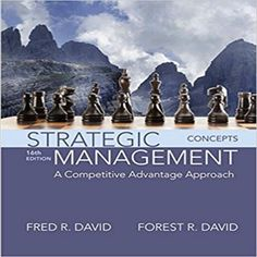 name:test bank for Strategic Management: A Competitive Advantage Approach Concepts Edition Edition author:by Fred R. David, Forest R. David type:Test bank /题库 format:word/zip All cha Schools In America, Massachusetts Institute Of Technology, Business Ethics, Harvard Business School, Business Education, Online Business, Student Engagement, Business Management, Brand Management
