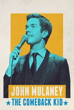 Directed by Rhys Thomas. With Petunia, John Mulaney, Amanda Walsh. Armed with boyish charm and a sharp wit, the former SNL writer offers sly takes on marriage, his beef with babies and the time he met Bill Clinton. Amanda Walsh, Rhys Thomas, Jim Gaffigan, Bo Burnham, Comedy Specials, Poster Design, Graphic Design, Street Smart, Photos