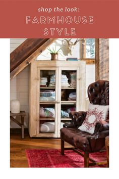 Can't get enough of this cozy Montana cabin's entryway? Get the look for your own space!