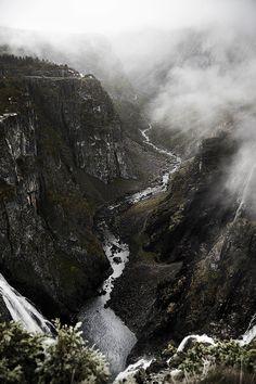 Vøringfossen, above Eidfjord, Norwayby jonpacker