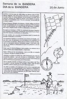 ENTÉRESE: ENSEÑA PATRIA - BELGRANO