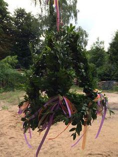 Mini maibaum kuchendeko party deko pinterest birthday oktoberfest und party - Richtfest deko ...