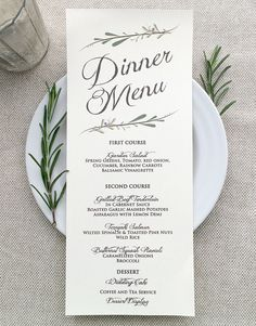 Free Printable Wedding Menus Wedding Menu Template Wedding Menu