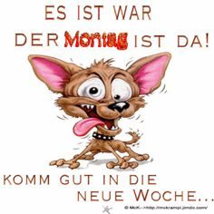 McK Montag´s Gb für euch Good Monday, Animals And Pets, Good Morning, Disney Characters, Fictional Characters, Geek Stuff, Teddy Bear, Humor, Fun