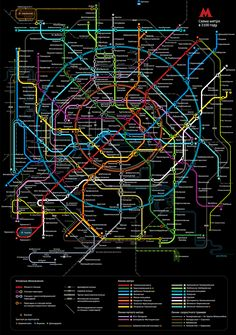 Art Lebedev, Moscow Metro Map