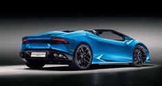 Blue wonder – Lamborghini Huracán Spyder