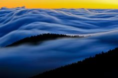 Smokey Mountains. Above the clouds. Breathtaking!