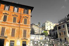Piazza di Spagna in Roma, Lazio